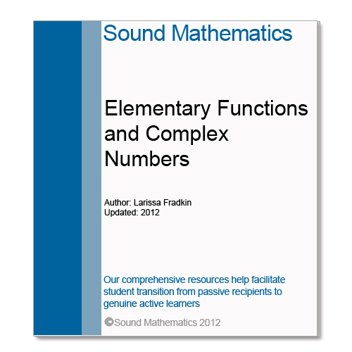 Elementary Functions and Complex Numbers for STEM Student training